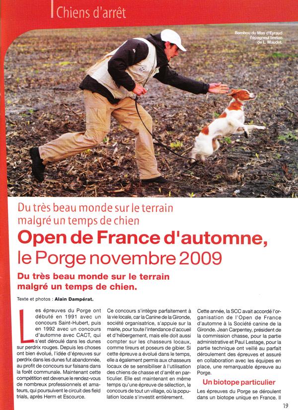 Théo Open GT 2009
